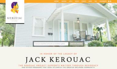 Screenshot of The Kerouac Project
