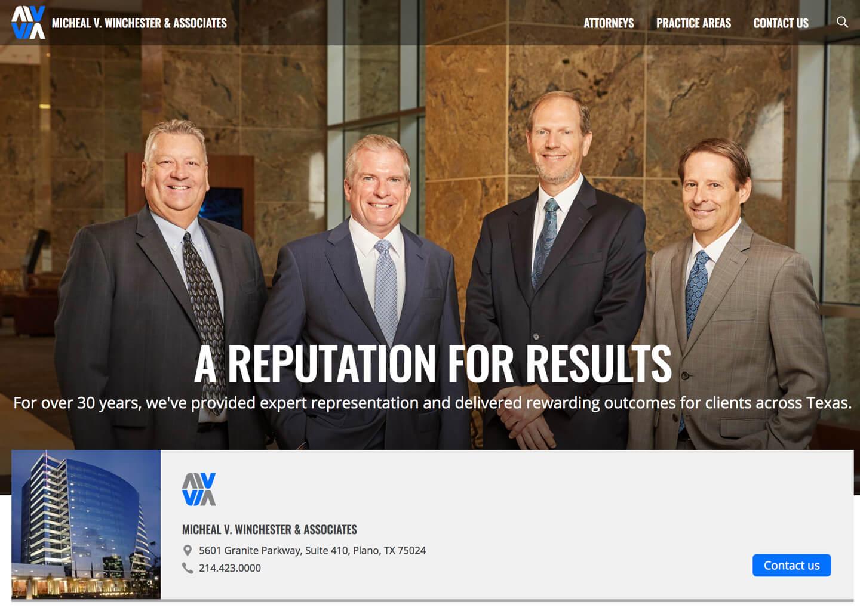 Website Development for Law Firms - Bill Erickson