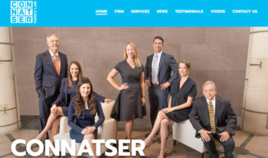 Screenshot of Connatser Family Law