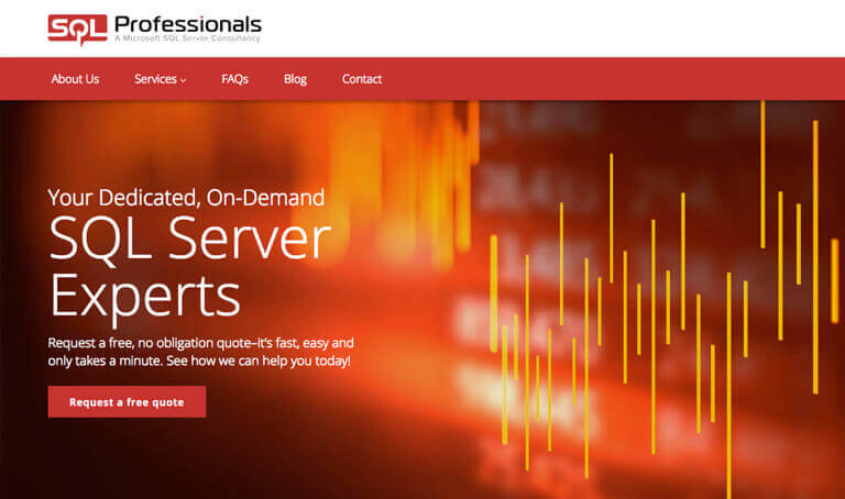 Screenshot of SQL Professionals