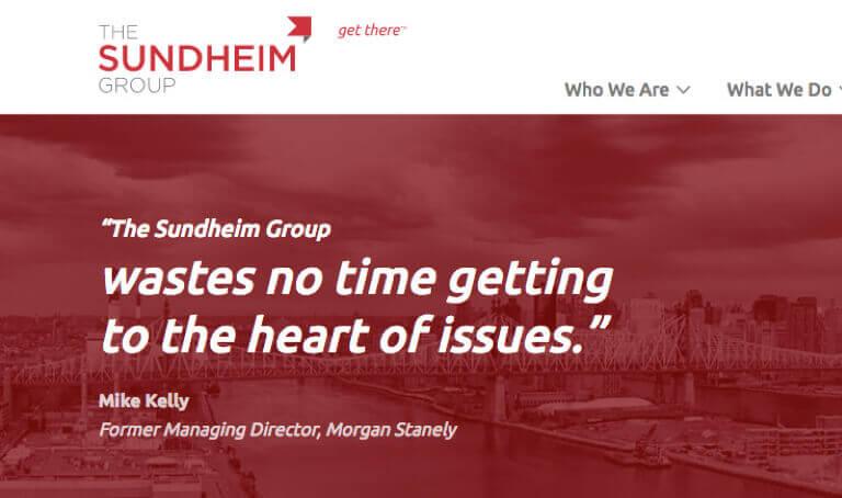 Screenshot of Sundheim Group