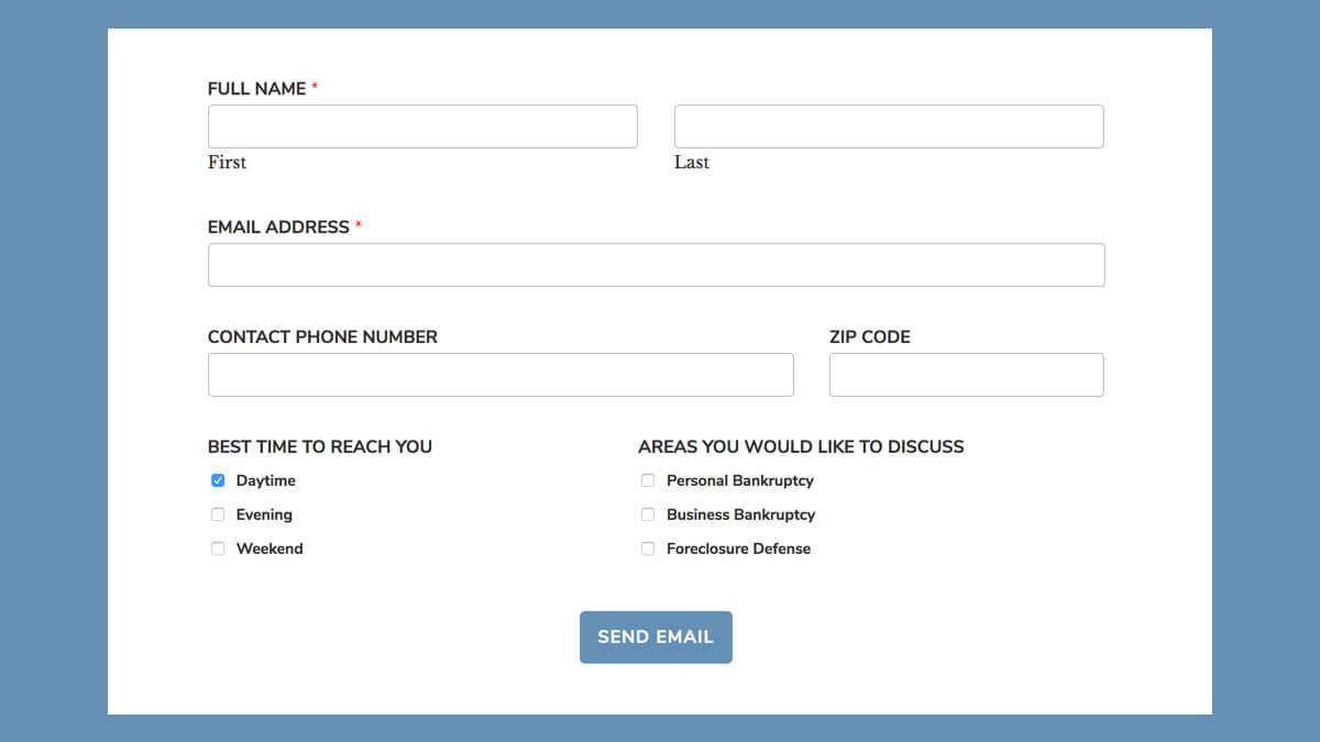 WPForms submit button match Gutenberg button style - Bill Erickson