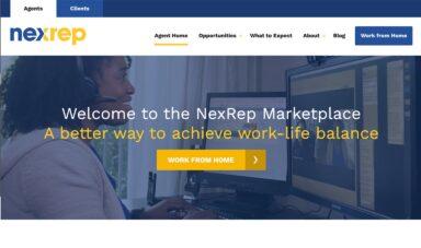 Screenshot of NexRep